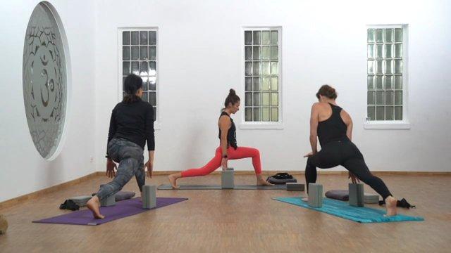 "Vinyasa Yoga ""Beine"""