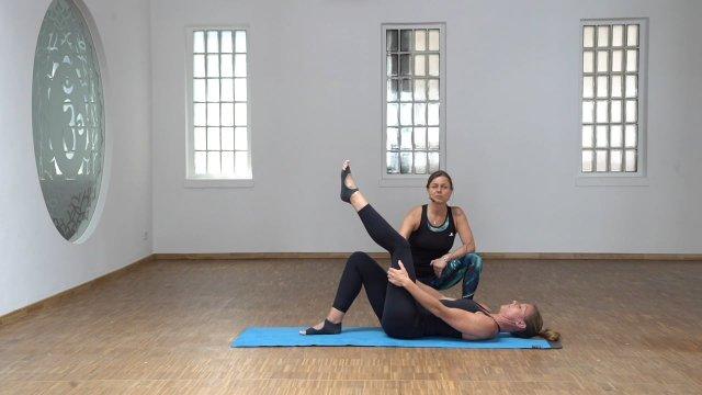 Pilates Basic - Tutorial: Variationen für verkürzte Ischios