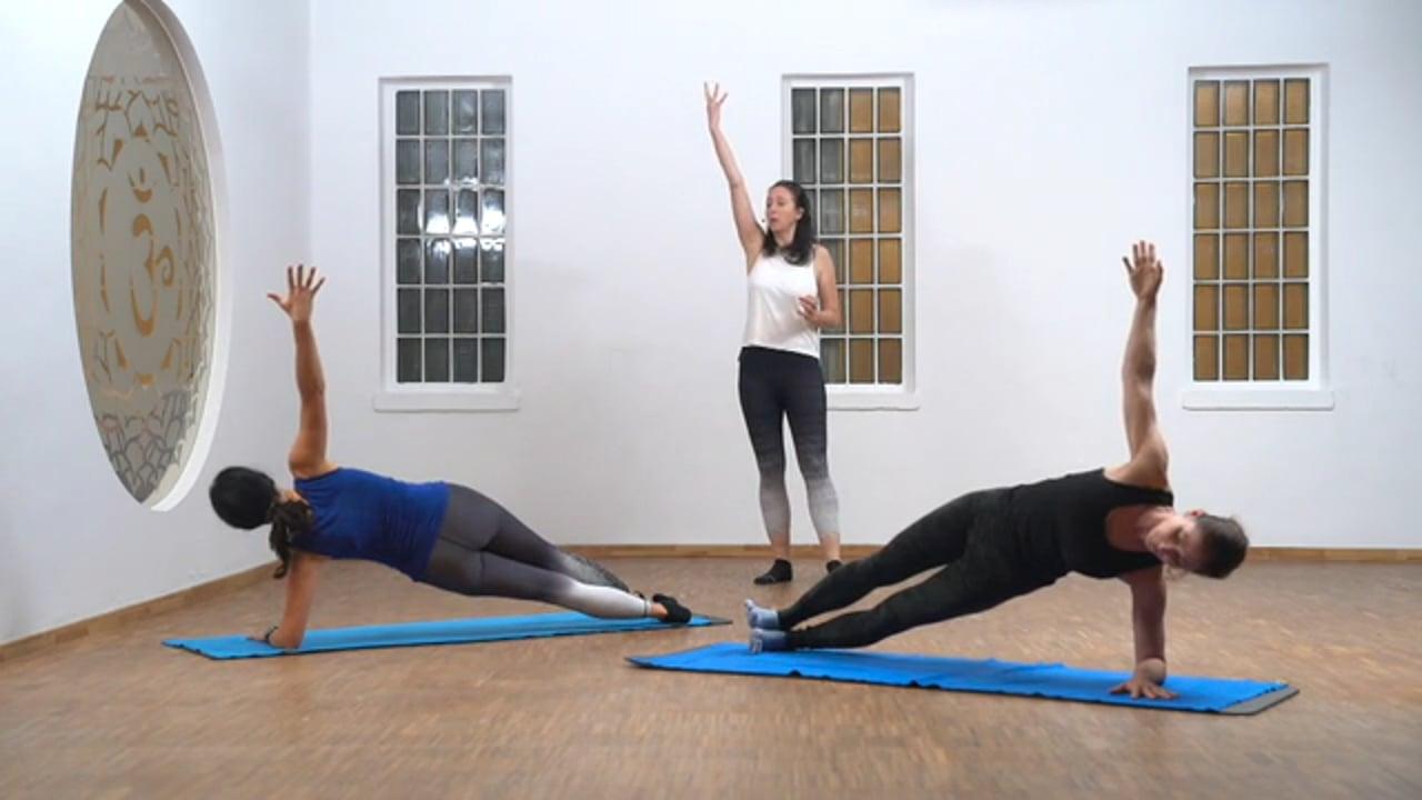 Pilates - Schulterarbeit