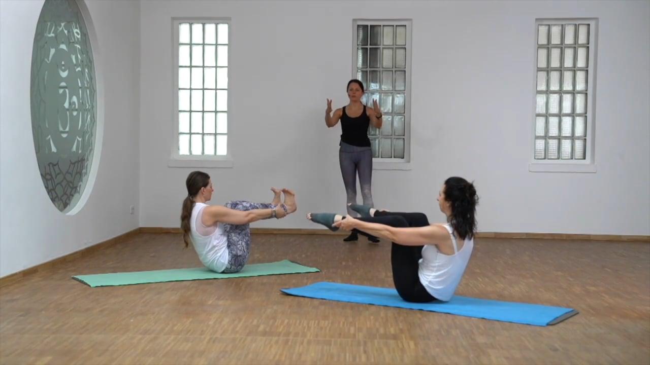 Pilates Variationen