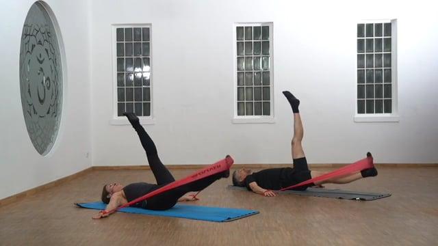 Pilates mit Widerstand