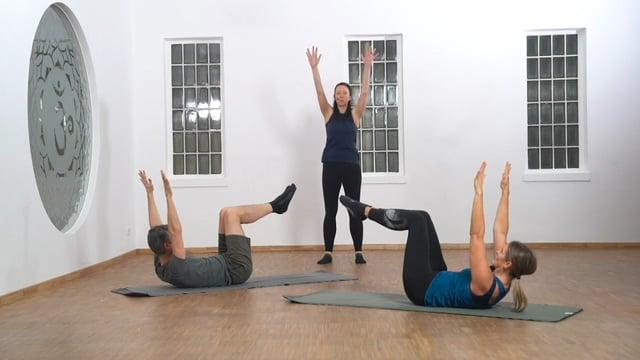 Pilates Matwork  - Die bewegte Schulter